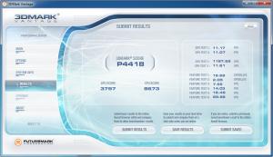Asus K53SV 3DMark Vantage nVidia