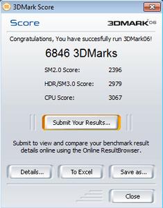 Dell Inspiron N5010 3DMark06