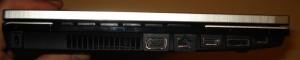HP Probook 4520s Left