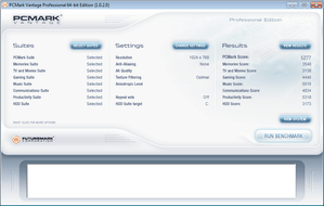 HP Probook 4520s PCMark Vantage