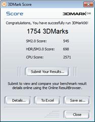Acer Aspire 5742 3DMark06