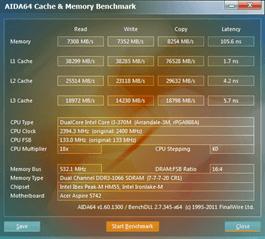 Acer Aspire 5742 cachemem